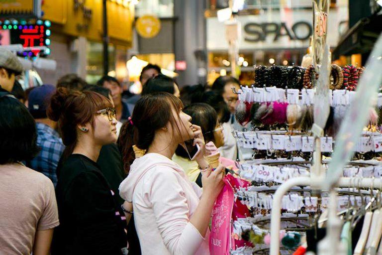 La tecnología en los supermercados en China