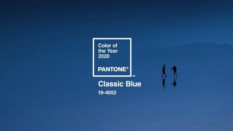 Pantone elige un clásico para su Color del año 2020
