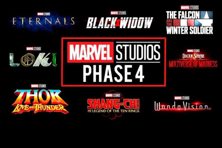 Calendario de estrenos Marvel: Fase 4 y 5