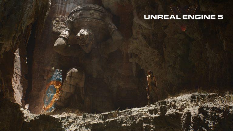 Así se ven los gráficos de PlayStation 5 con el nuevo Unreal Engine 5