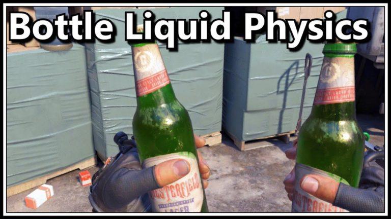 La física de líquidos de Half Life Alyx es impresionante!