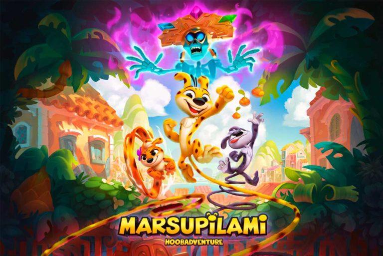 Así es Marsupilami: Hoobadventure
