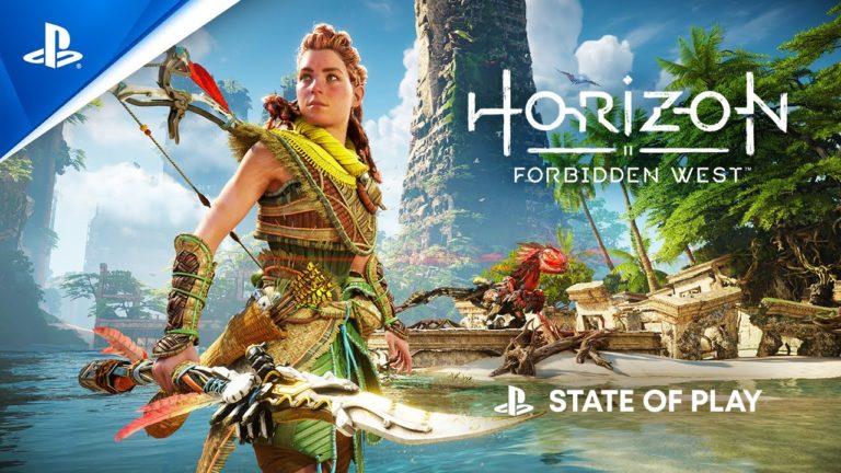 Aquí tienes 15 minutos de Horizon Forbidden West, uno de los juegos más esperados de PS5