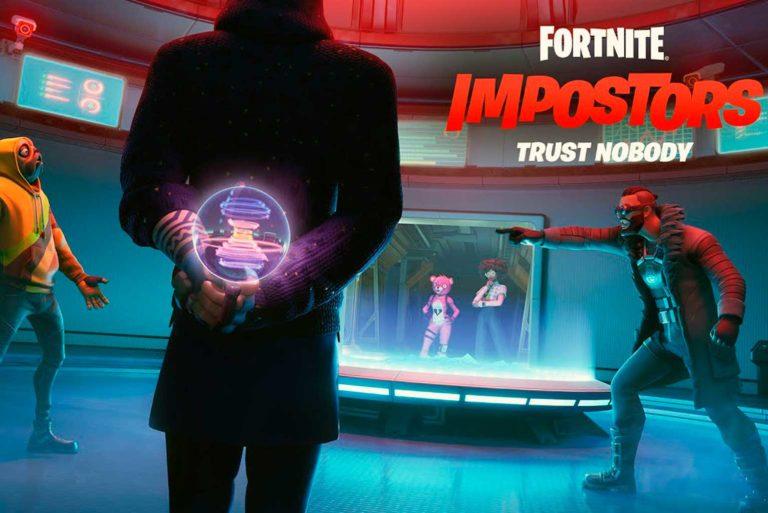 Fortnite se inspira en Among Us