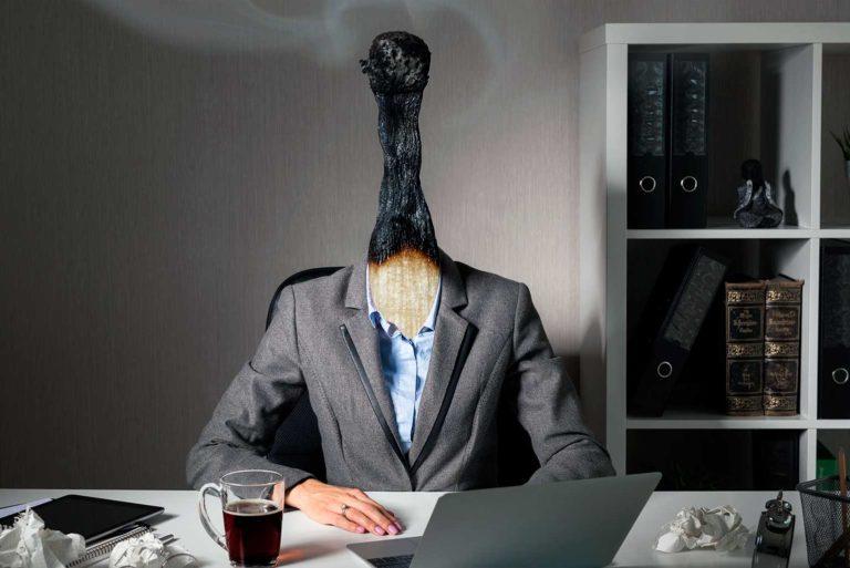 El home office provocó un aumento en el síndrome de burnout